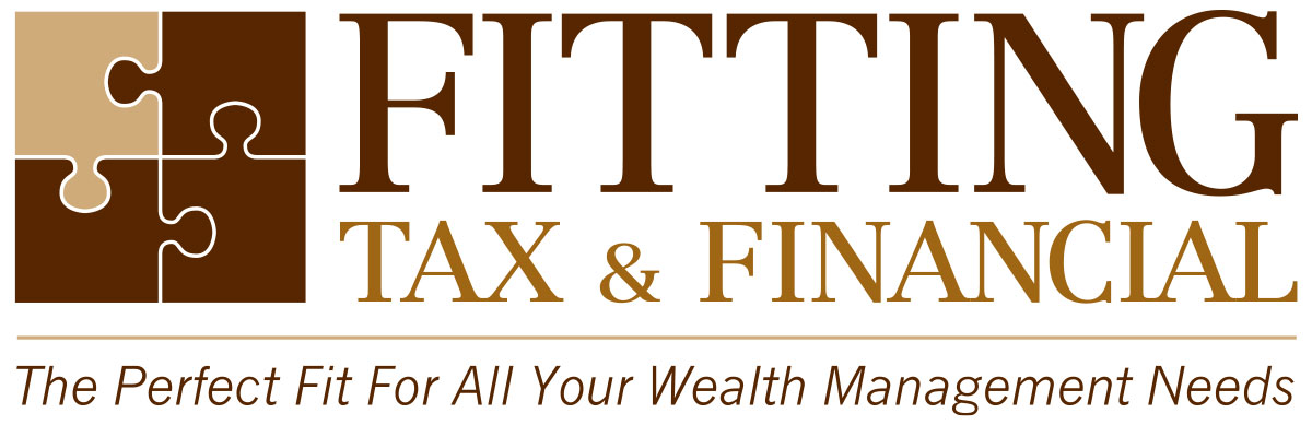 Logo design and brand consulting for Fitting Tax and Financial.