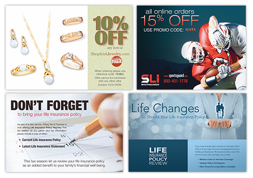 Direct Mail Design, Layout, and Production.